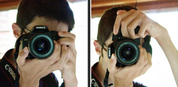 photo comment tenir appareil photo paysage portrait