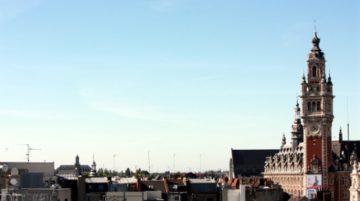 photo de ville Lille La chambre de commerce et son beffroi