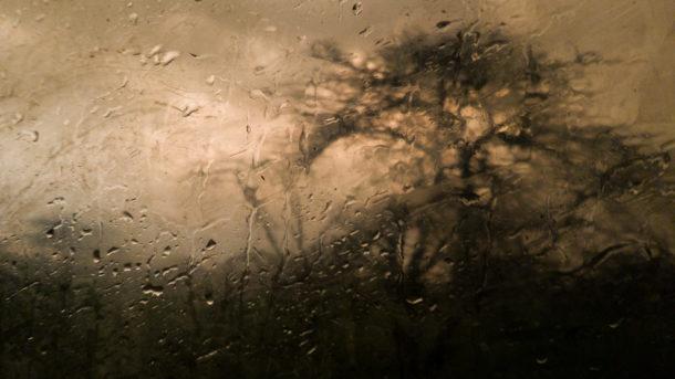 photo gouttes pluie vitre
