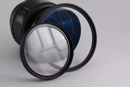filtre photo reflets qualité