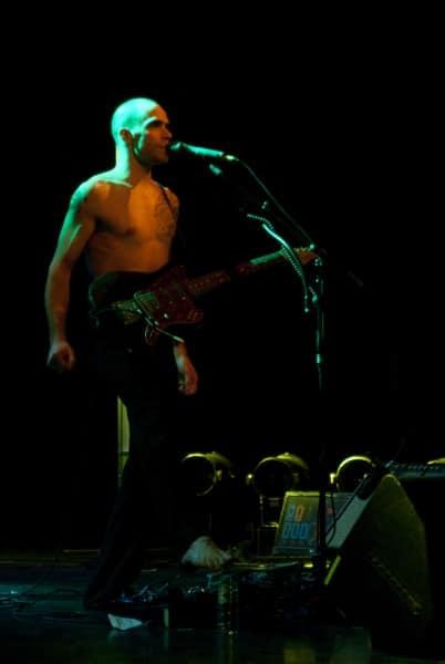 Photo de concert chanteur Nosfell @ Clamart