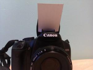 Reflecteur de flash en carton appareil