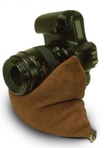 bean bag cuir appareil photo