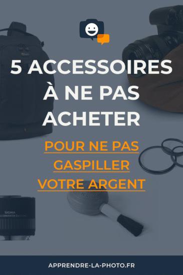 5 accessoires à ne pas acheter pour ne pas gaspiller votre argent