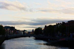 La Liffey à Dublin photo de voyage
