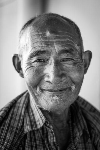 Photo portrait vieil homme