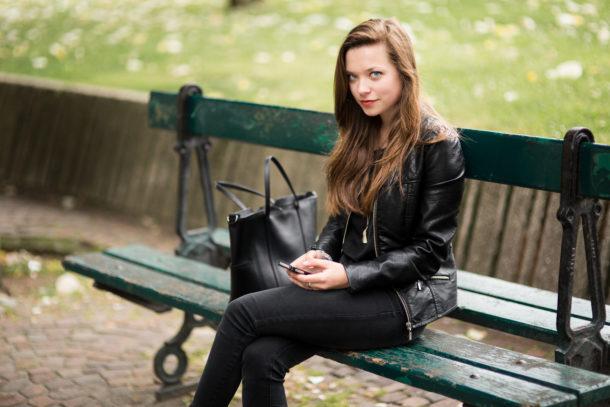 Portrait photo cadrage large