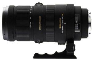 Sigma 120-400mm f/4.5-5.6 DG OD HSM test objectif