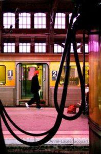 tgv train couleurs photo quotidien Anne Laure Jacquart