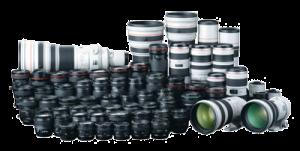 Canon objectifs lentilles