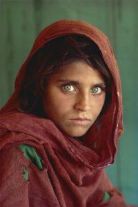 La jeune fille afghane