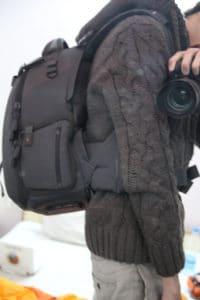 sac photo Vanguard Skyborne 45 test porté