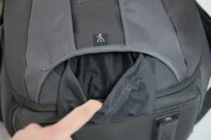 sac photo Vanguard Skyborne 45 poche