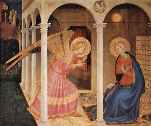 Fra Angelico « Annonciation » 1426