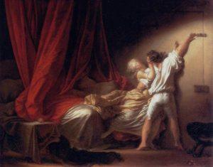 Fragonard « le verrou » 1774 1778