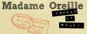 logo Madame Oreille voyage et photo