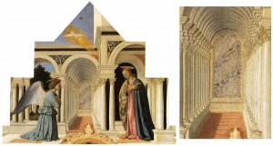 Piero della Francesca « Annonciation » 1426