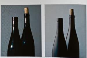 photo éclairage bouteilles