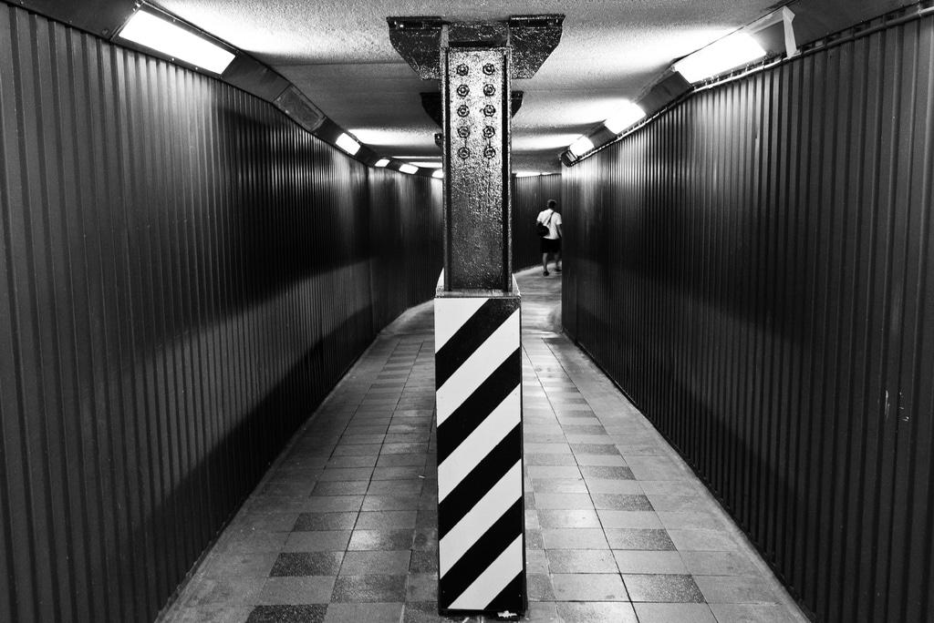 Underground photo métro noir et blanc