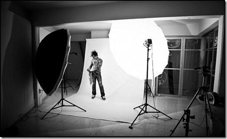 flash studio photo