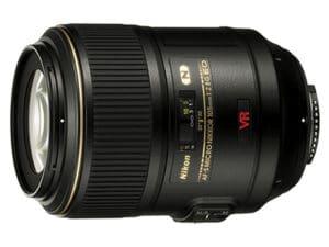 Nikon AFS VR Micro Nikkor 105mm f2.8G IF ED objectif macro photo