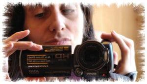 Autoportrait caméra miroir