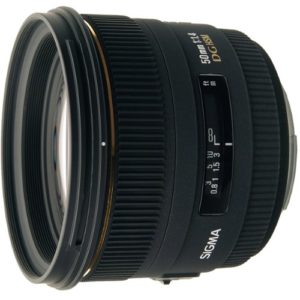 sigma 50mm F14 objectif focale fixe