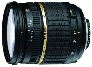 tamron 17-50mm f/2.8 objectif