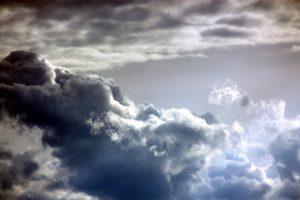 post traitement photo nuages