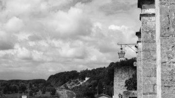 photo ville composition noir et blanc