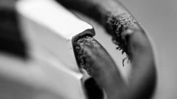 Macro abstraite photo bracelet Esclavage