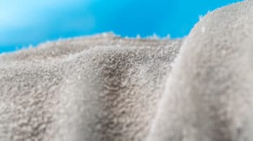 Macro abstraite photo dunes sable tissus