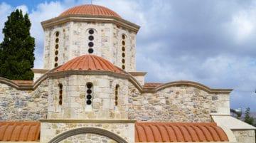 Monastère en Crète