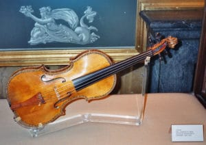 Stradivarius violin Palacio Real Madrid violon