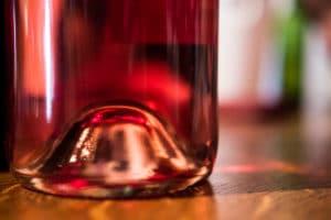 Photo bouteille de vin