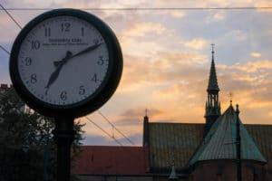 Photo horloge rue