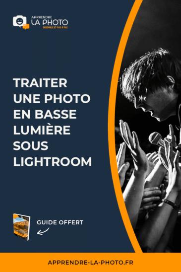 Traiter une photo en basse lumière sous Lightroom