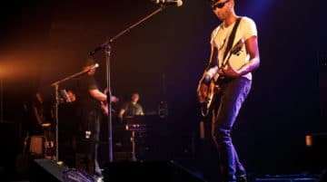 photo de concert guitariste Sigma 18-35mm f/1.8 Art objectif photo
