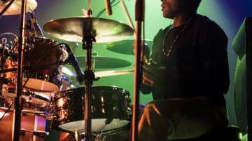 photo de concert batteur Sigma 18-35mm f/1.8 Art objectif photo