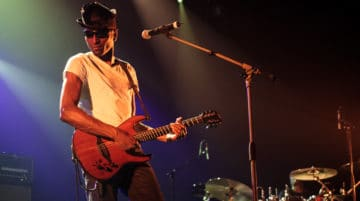 photo de concert guitariste Sigma 18-35mm f/1.8