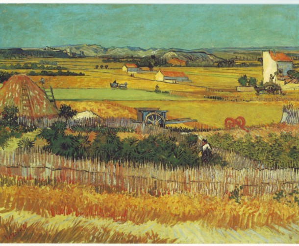 show enlargment La Moisson, 1888, Vincent van Gogh (1853-1890)