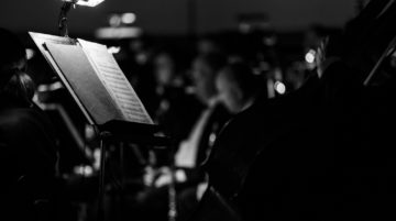 Musiciens photo noir et blanc