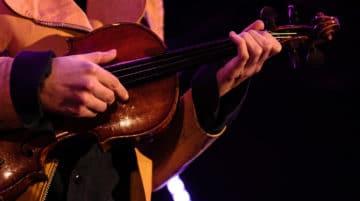 Photo violoniste composition