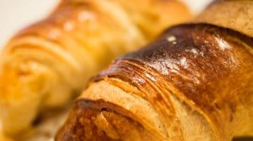 Photo détail croissants