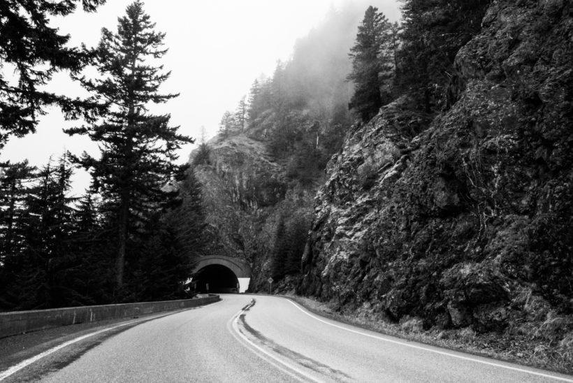 Photo noir et blanc Olympic National Park, Etat de Washington (14mm, Priorité ouverture à f/16, 1/60s, ISO 1250)