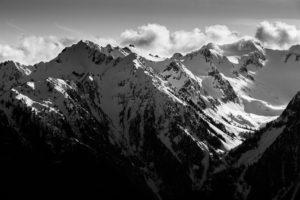 Photo montagnes neige 100mm, f/8, 1/2000, ISO 160
