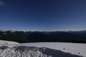 Photo neige paysage montagne grand angle