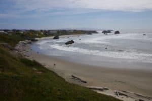 Photo mer plage paysage vagues