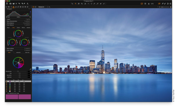 Interface de Capture One 11