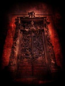 portes rouge de l'enfer
